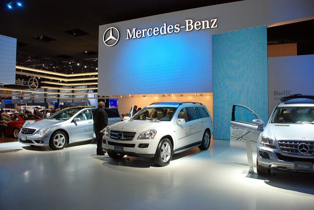 Mercedes Benz Car Show